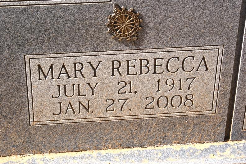 Mary Rebecca James