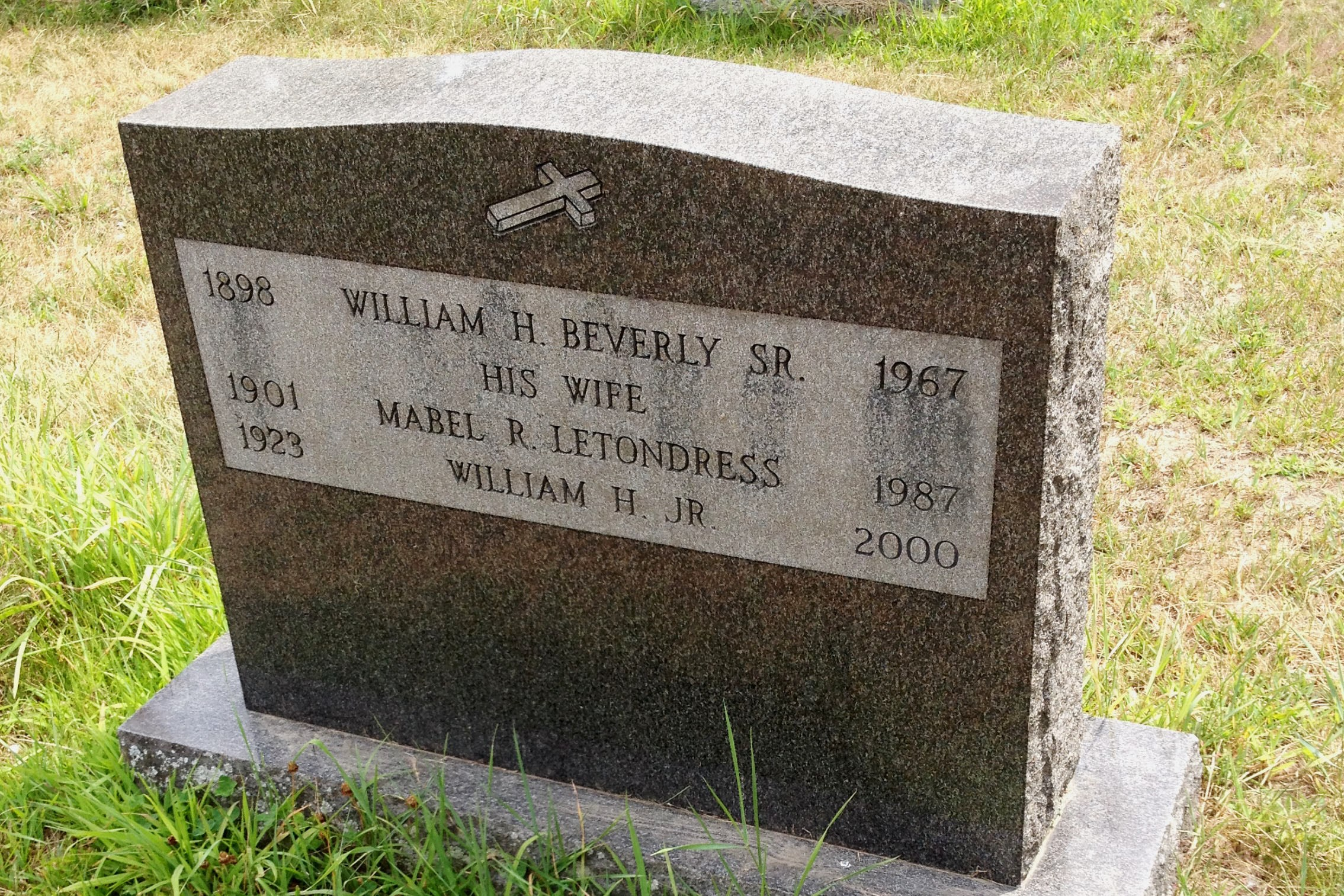William H Beverly