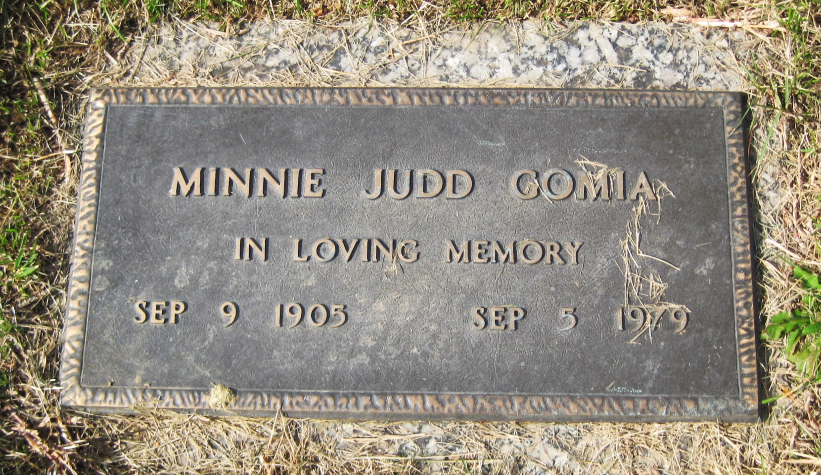Minnie Judd