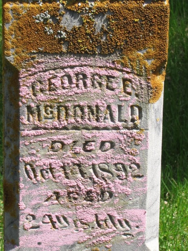 George Edward McDonald