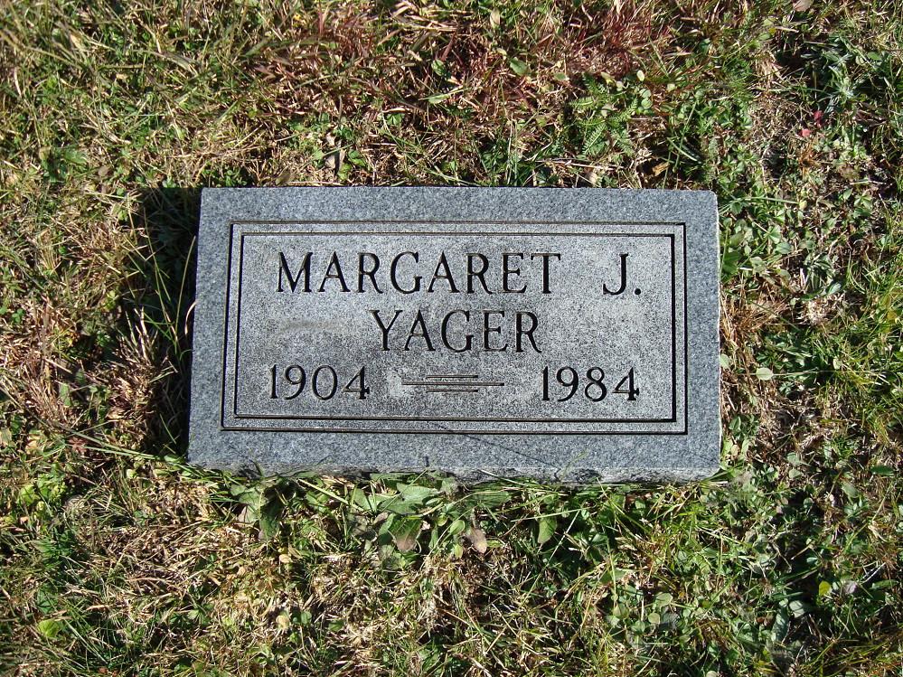 Margaret I Yager