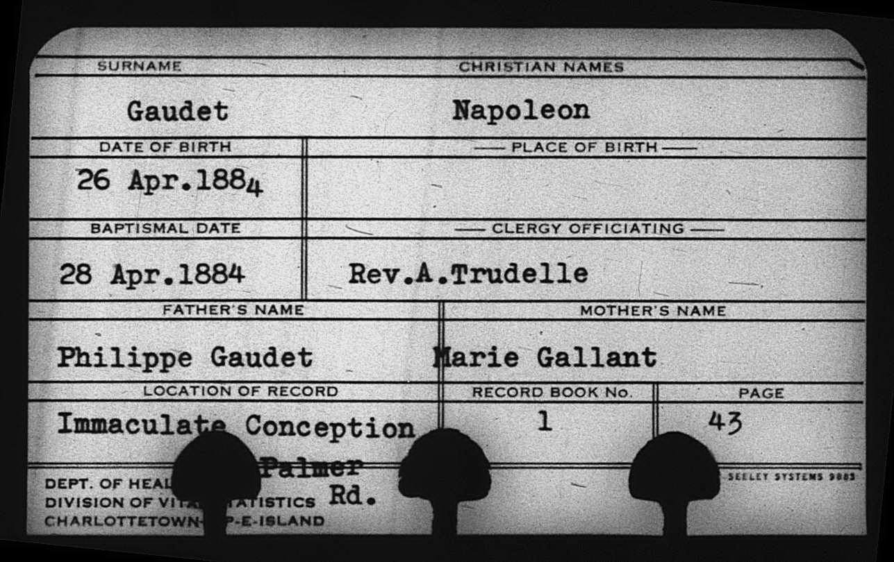 Napoléon Gaudet