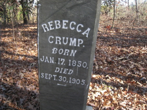 Rebecca Hathcock Crump