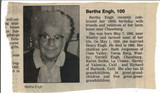 Bertha Hanggi