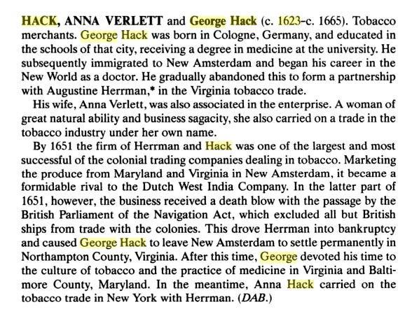 George Hacke