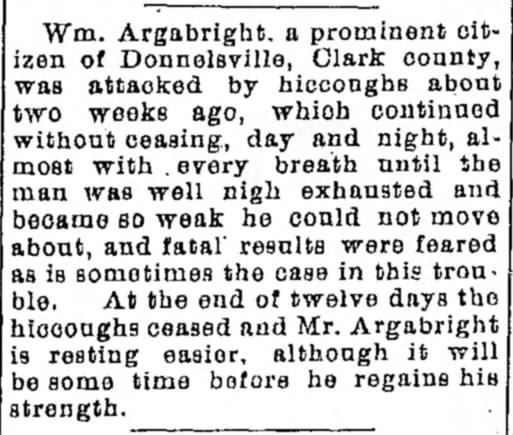 William Albert Argabright