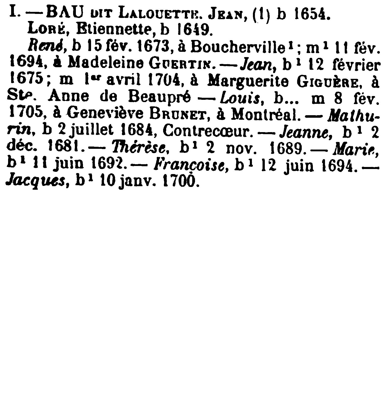 Jean Baptiste Lebeau