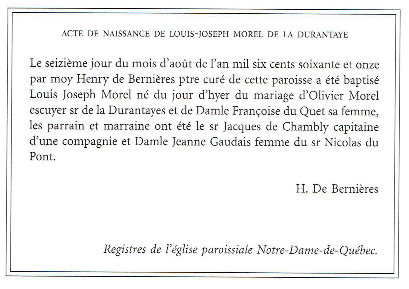 Joseph Morel