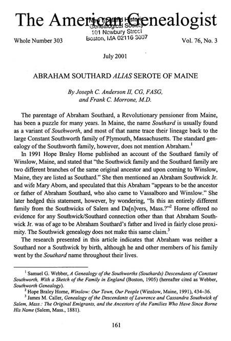 Abraham Allee