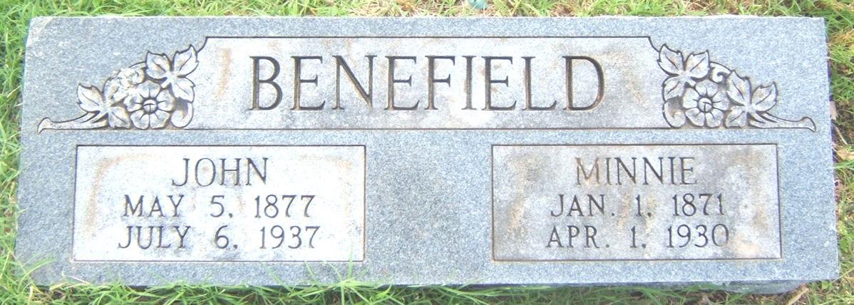 Ozzie B Benefield