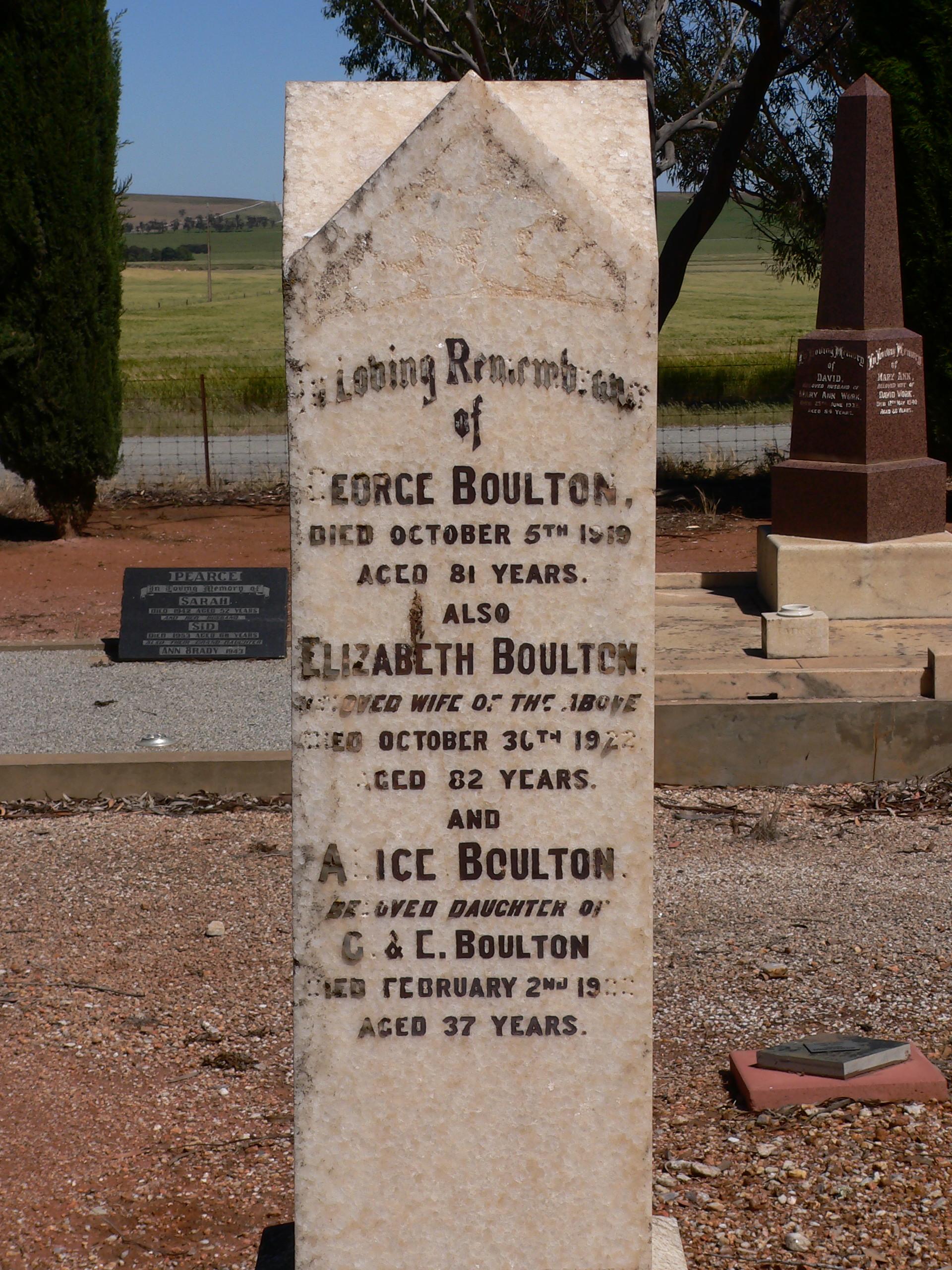 Kergia Elizabeth Boulton