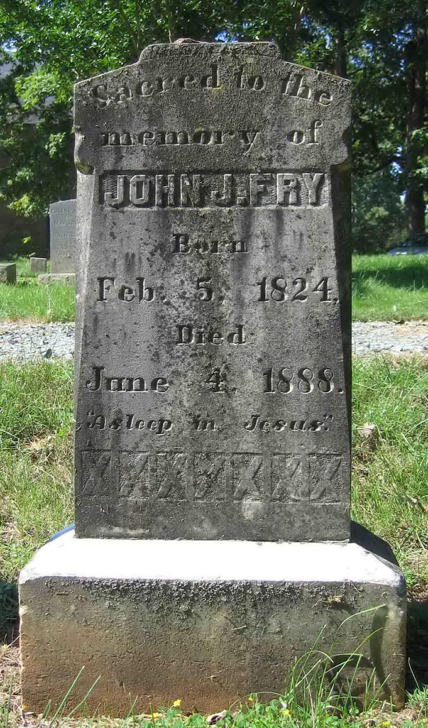 John James Fry