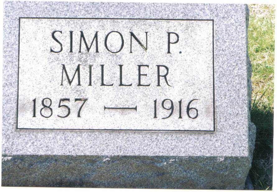 Simon Peter Miller