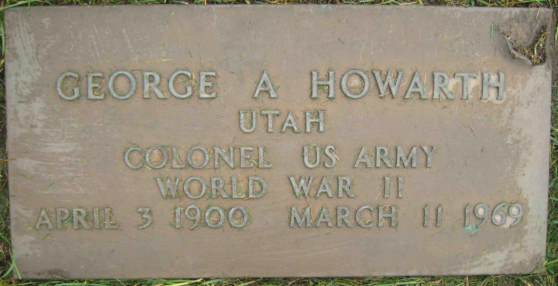 George W Howarth