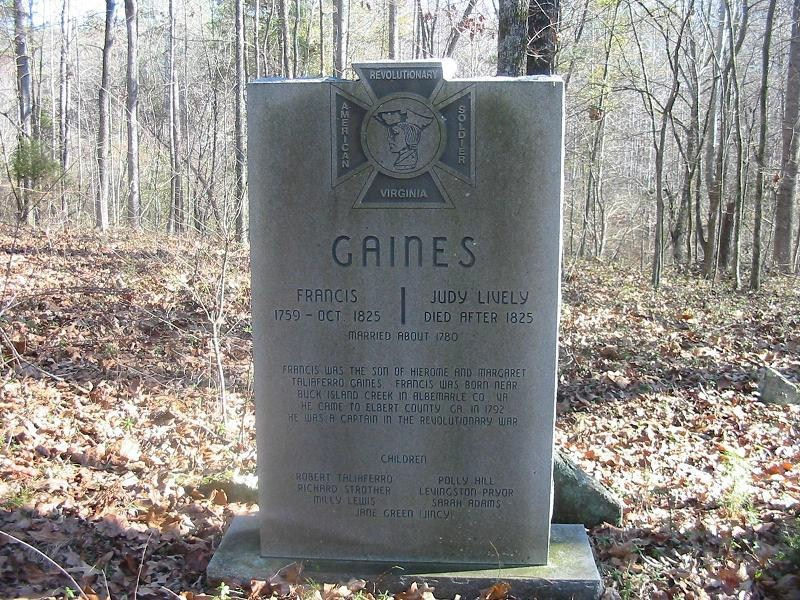 Francis Henry Gaines
