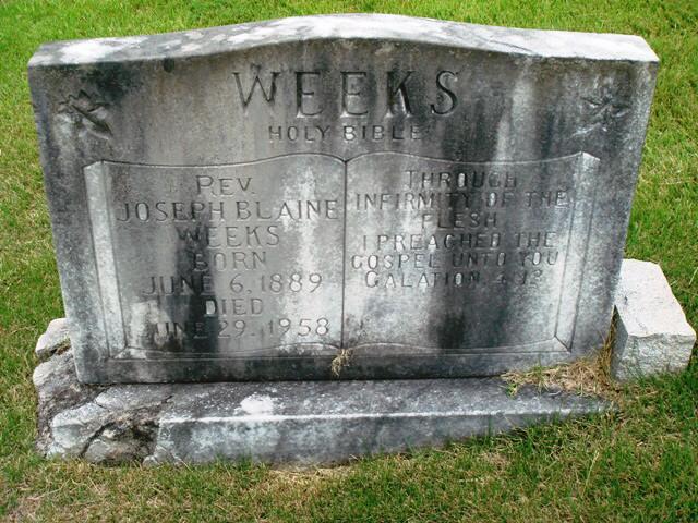 Joseph Blaine Weeks