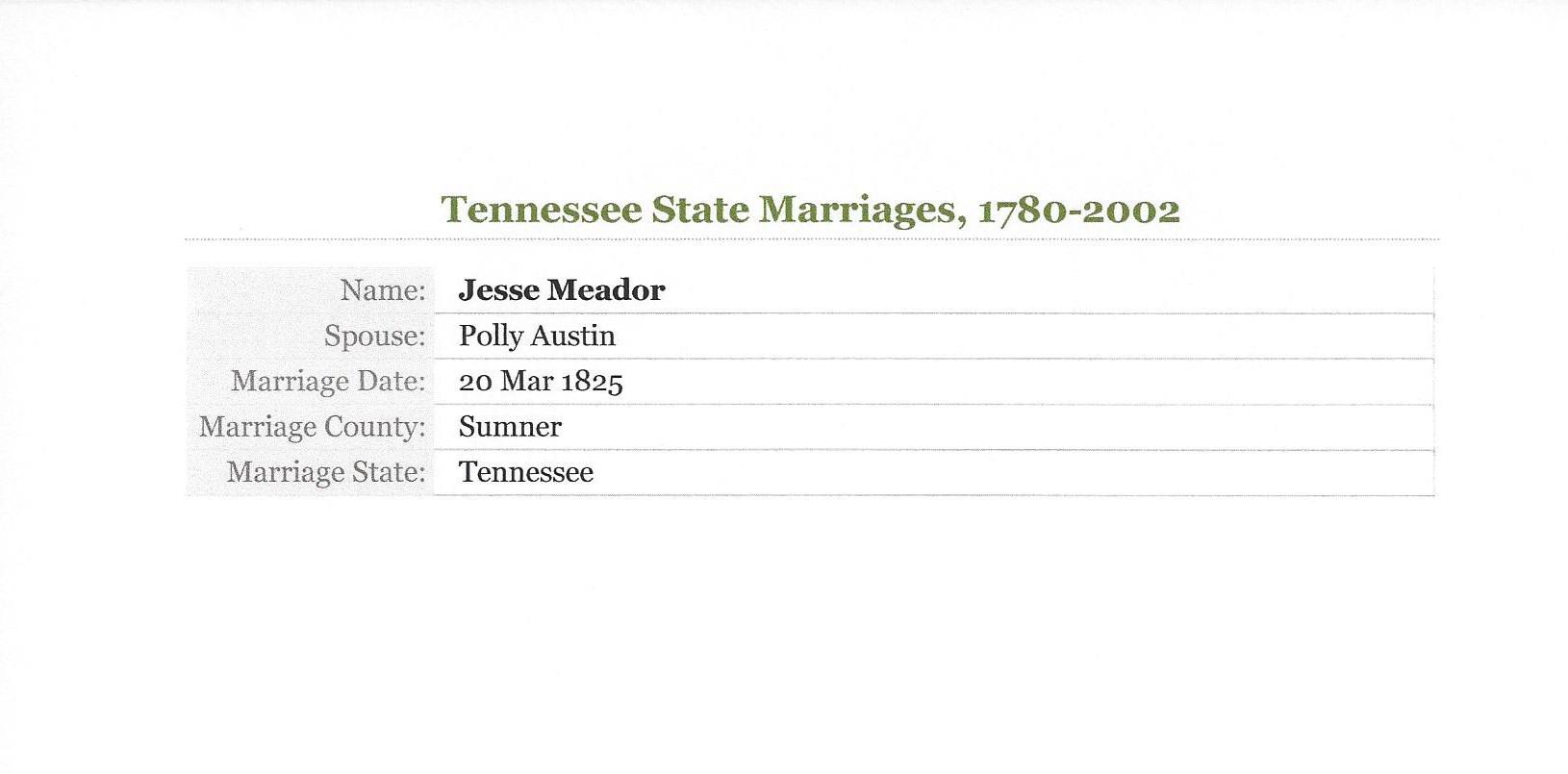 Jesse Meador