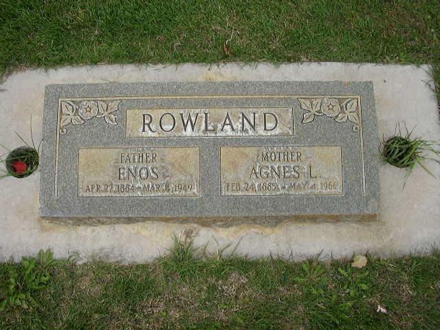 Agnes S Rowland