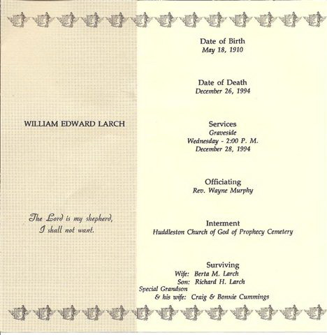 Donald Edward Larch