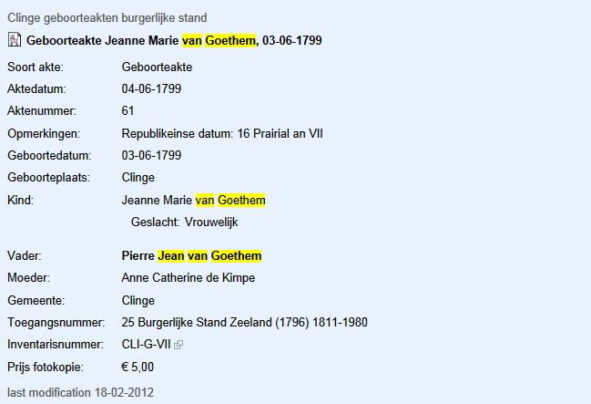 Jean Van Goethem