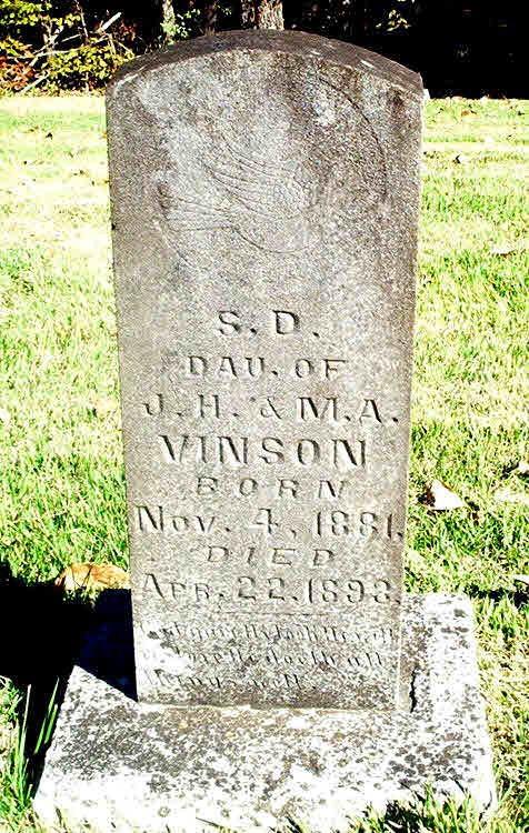 Dee Wood Vinson