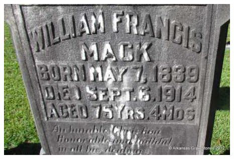 William Francis Mack