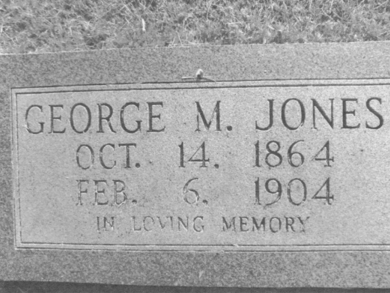 George Martin Jones