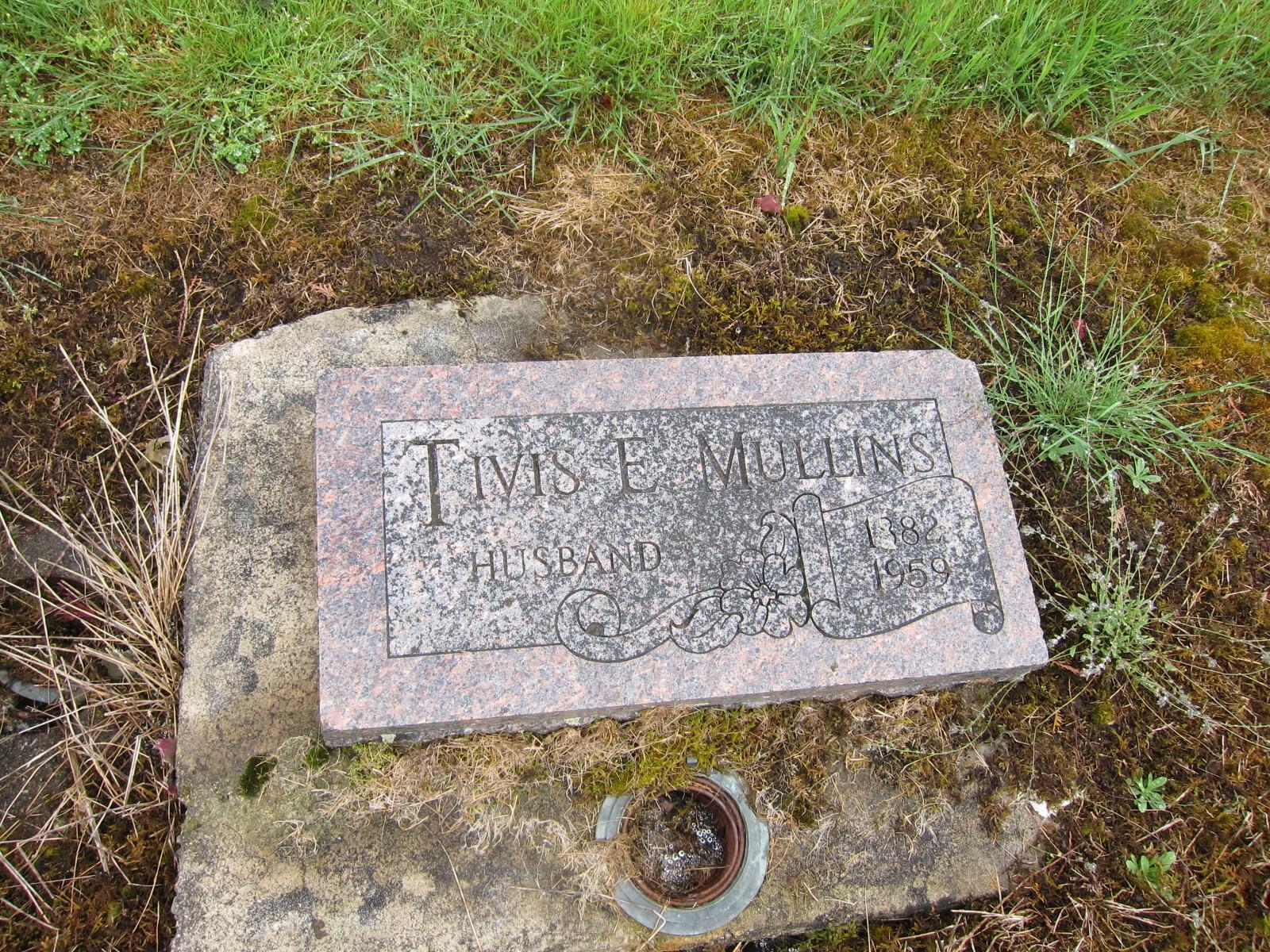 Tivis E Mullins