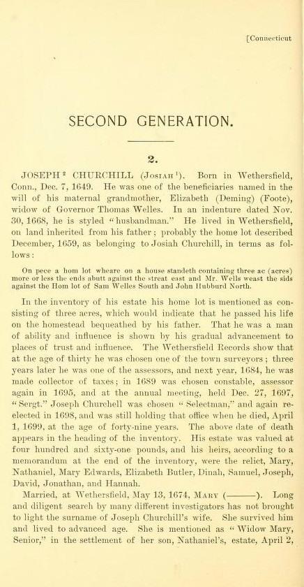 Joseph Churchill