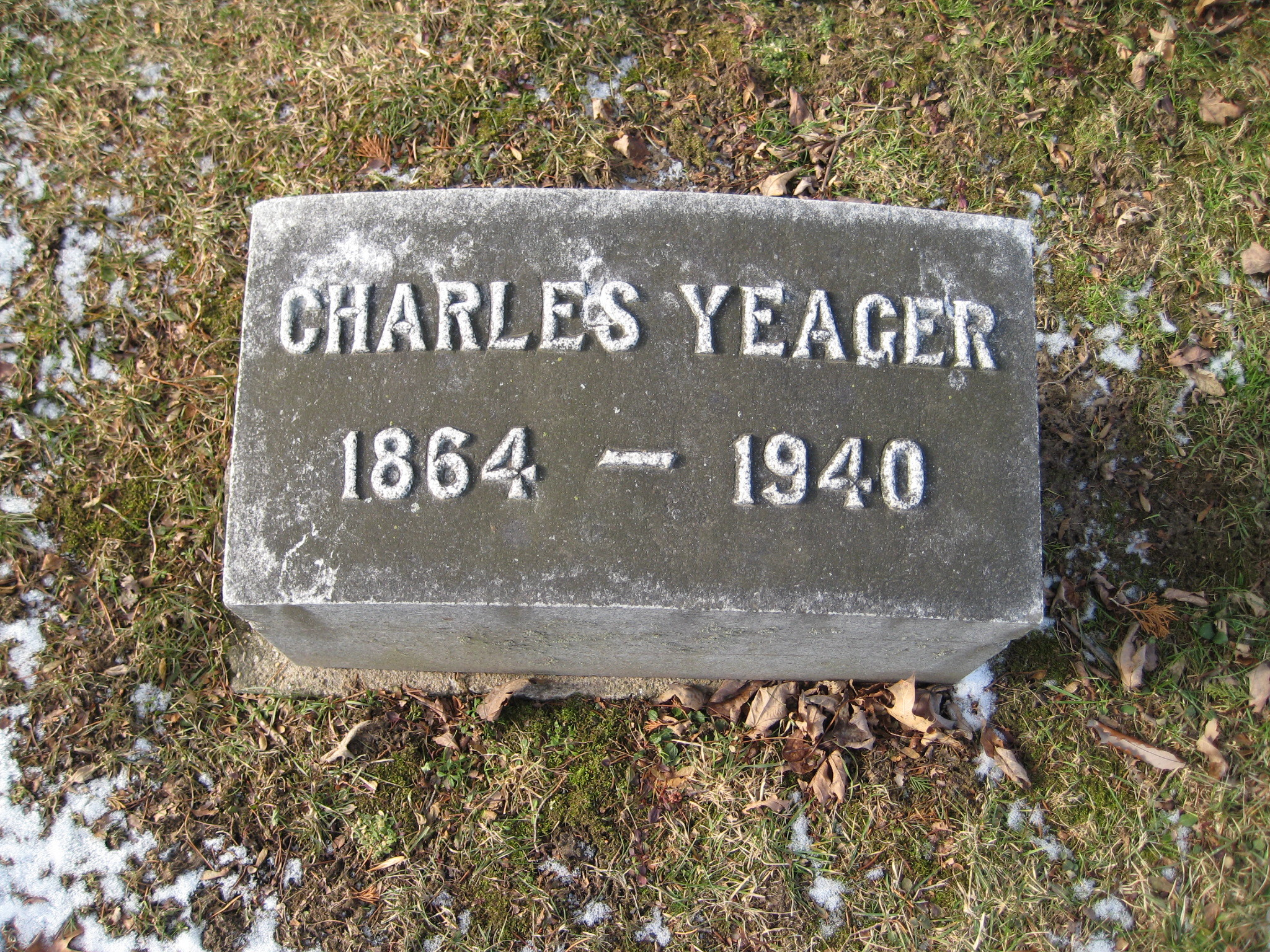 Charles F Yeager