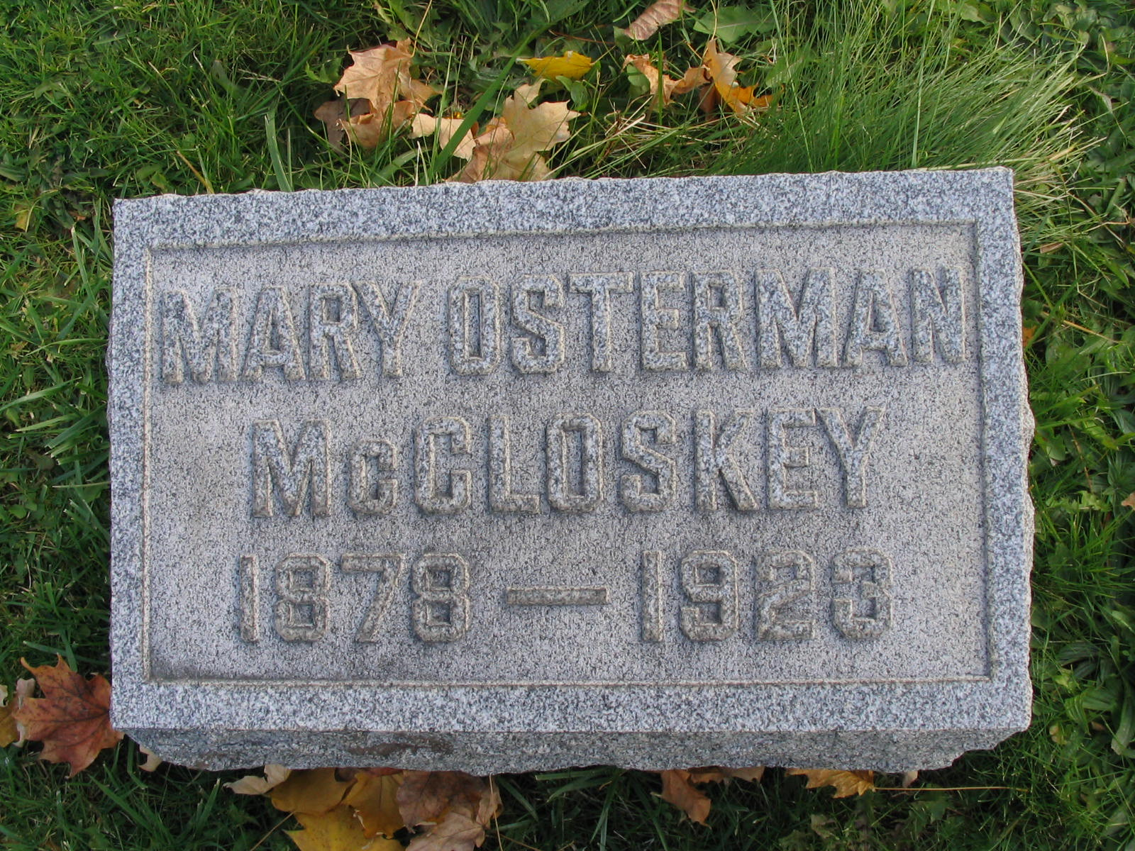 Celia Mary Osterman