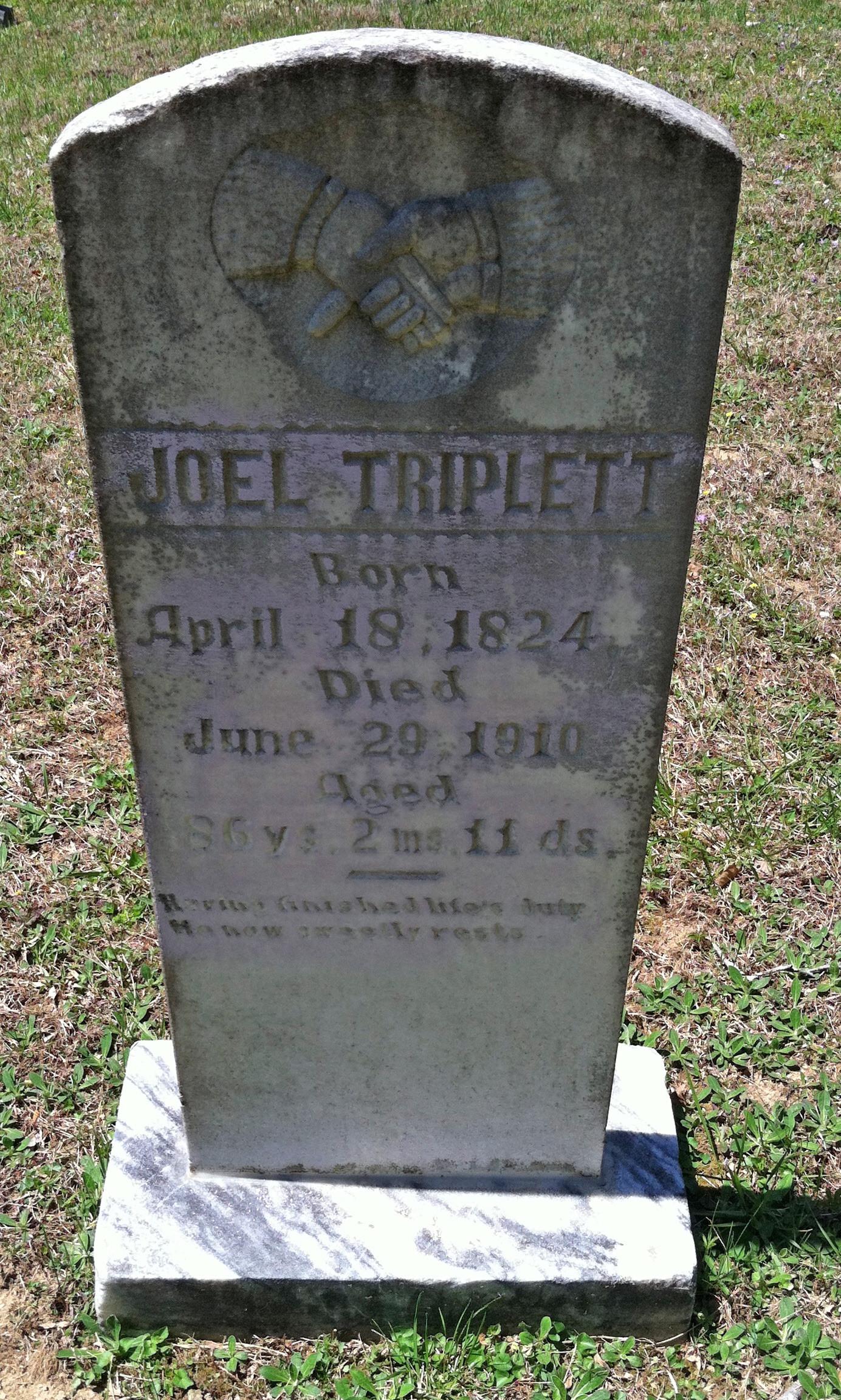George W Triplett