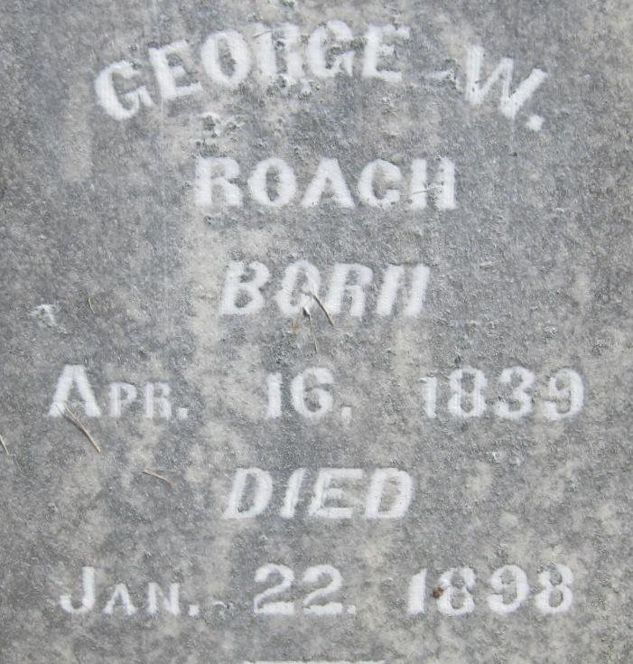 George Washington Roach