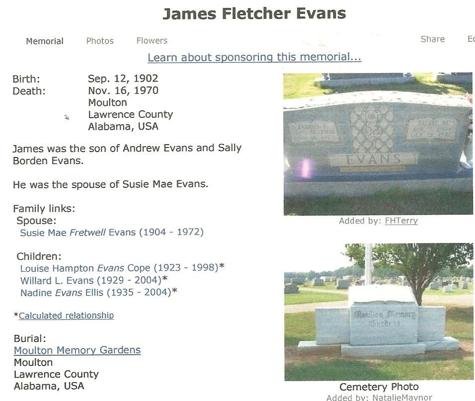 James Fletcher Evans