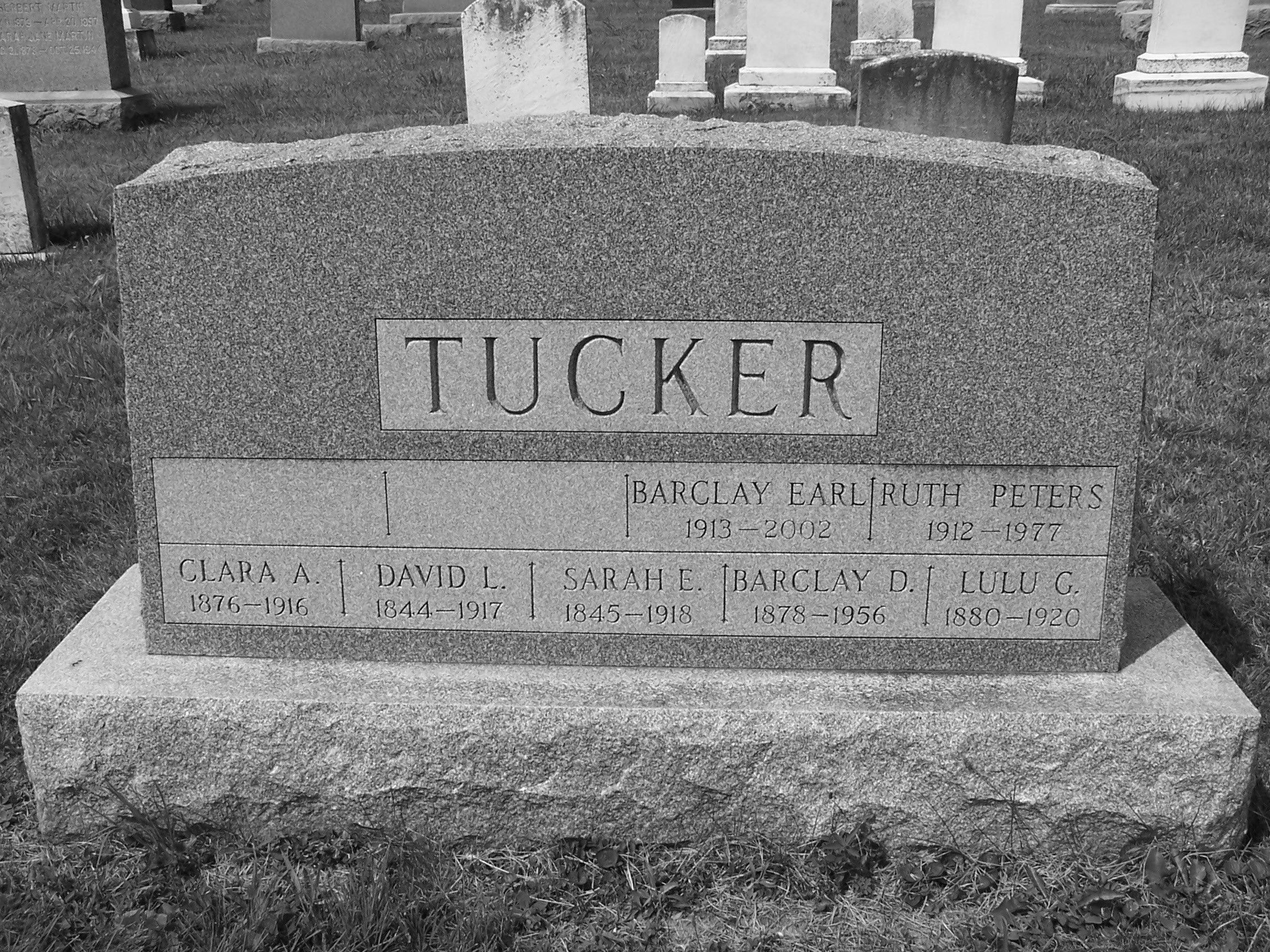 Barclay Earl Tucker