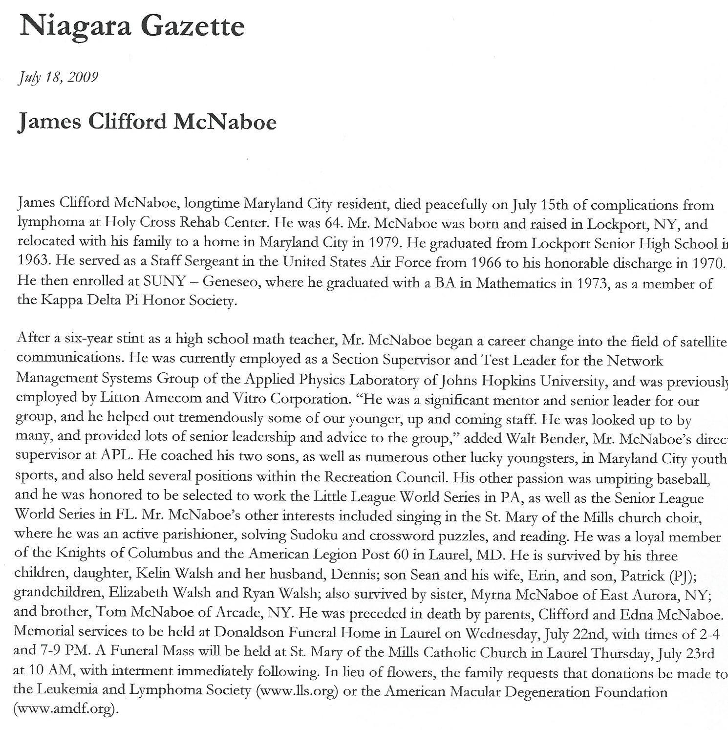 James Mcnaboe