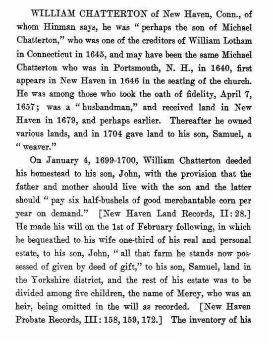William Chatterton