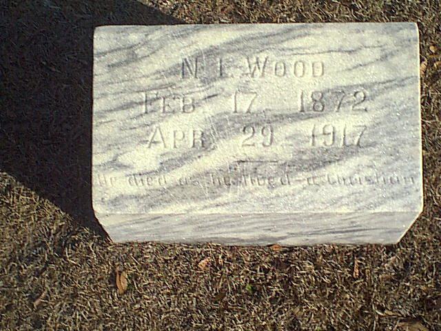 Nicholas Joseph Wood