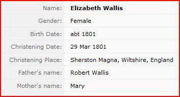 Elizabeth Wallis