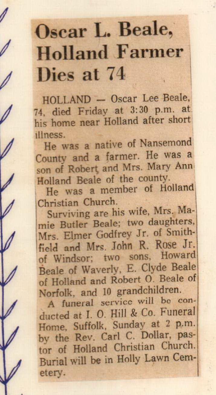 Oscar Beale