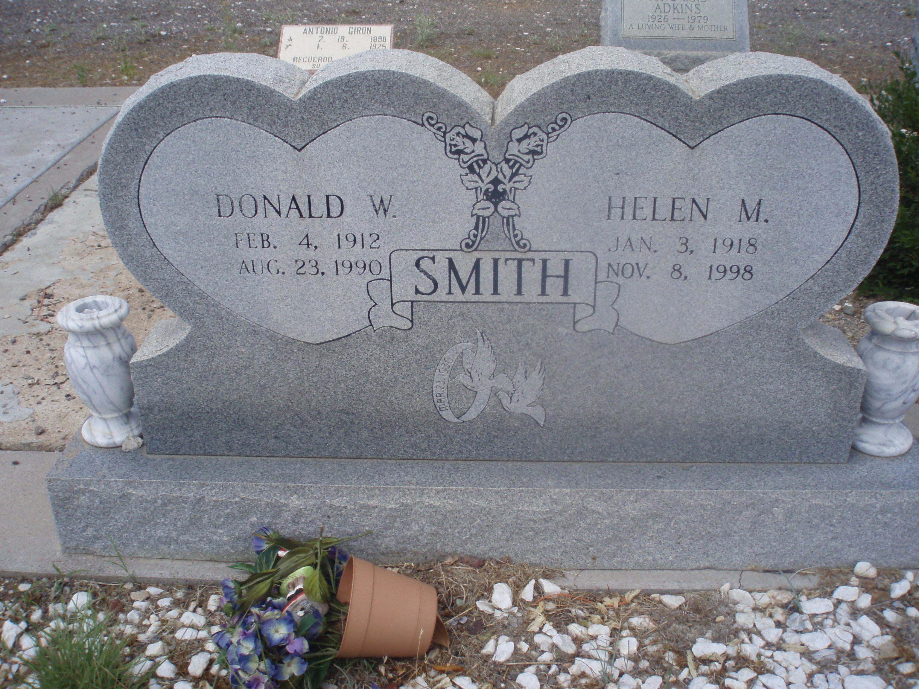 Donald W Smith