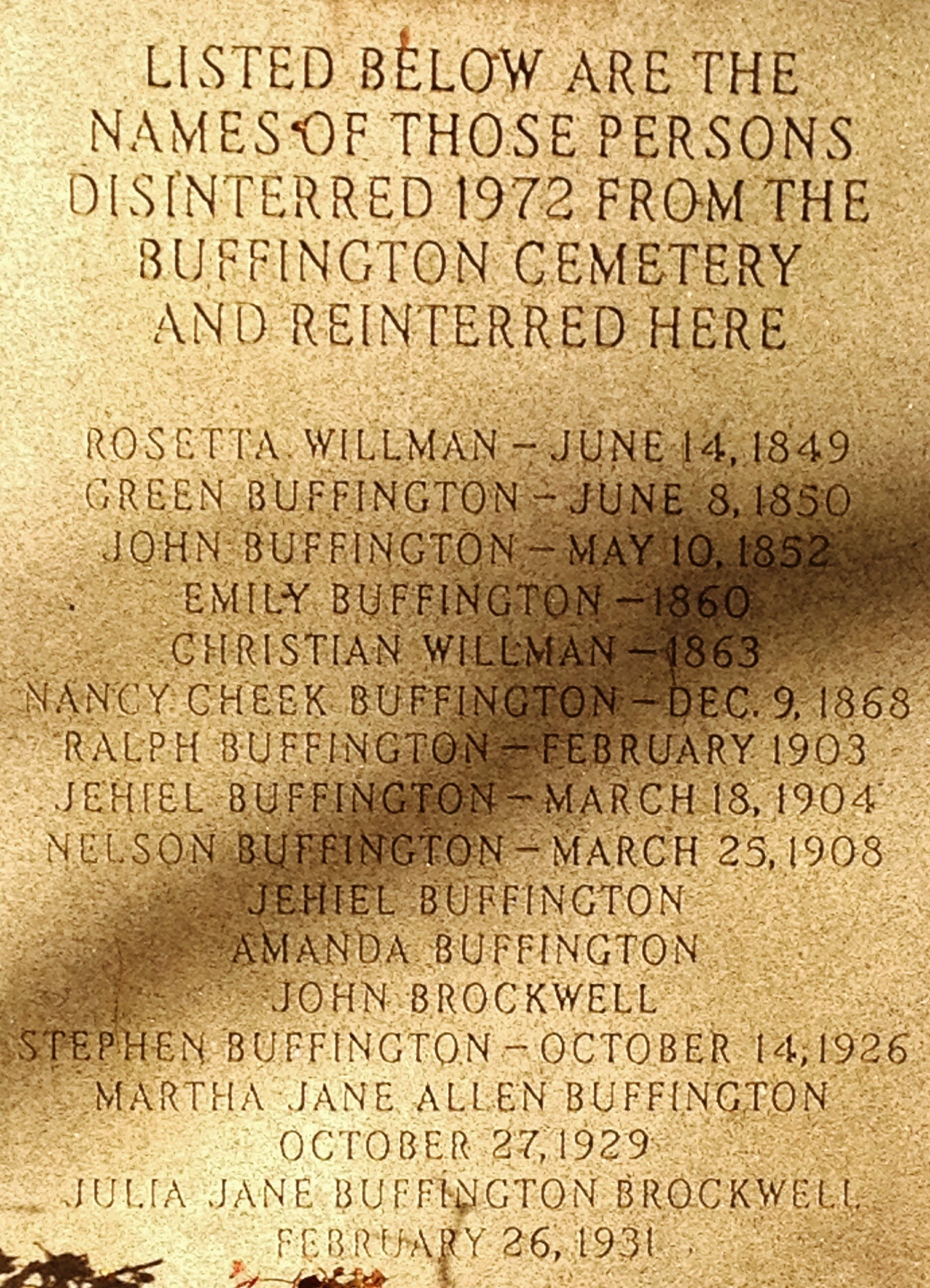 Martha Buffington