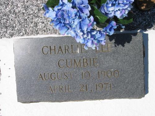 Charlie L Cumbie