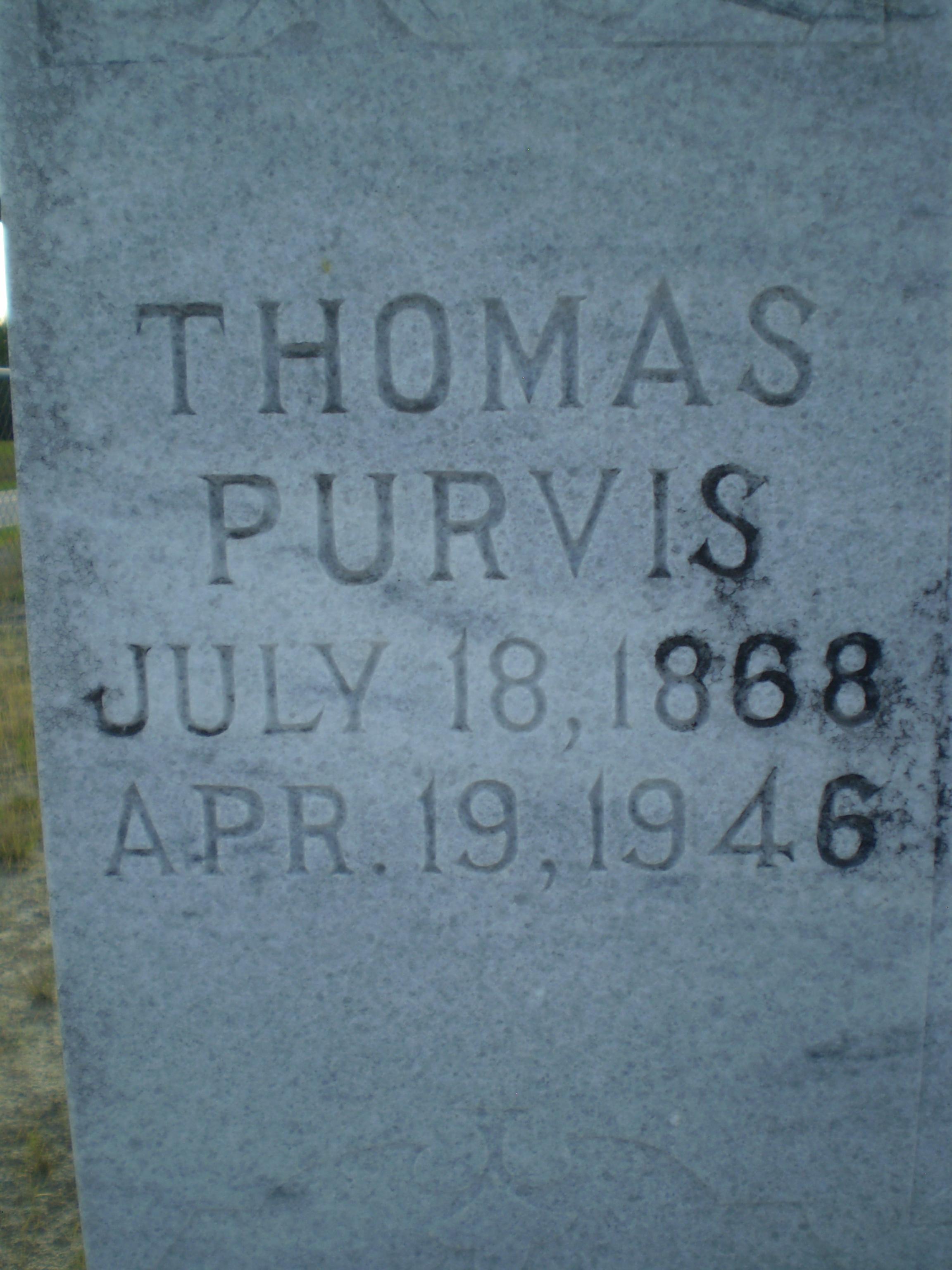 Thomas Purvis
