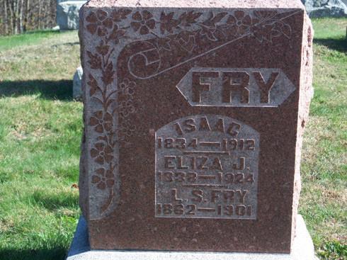 Isaac M Fry