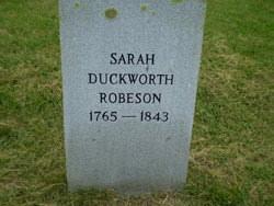 Sarah Robeson