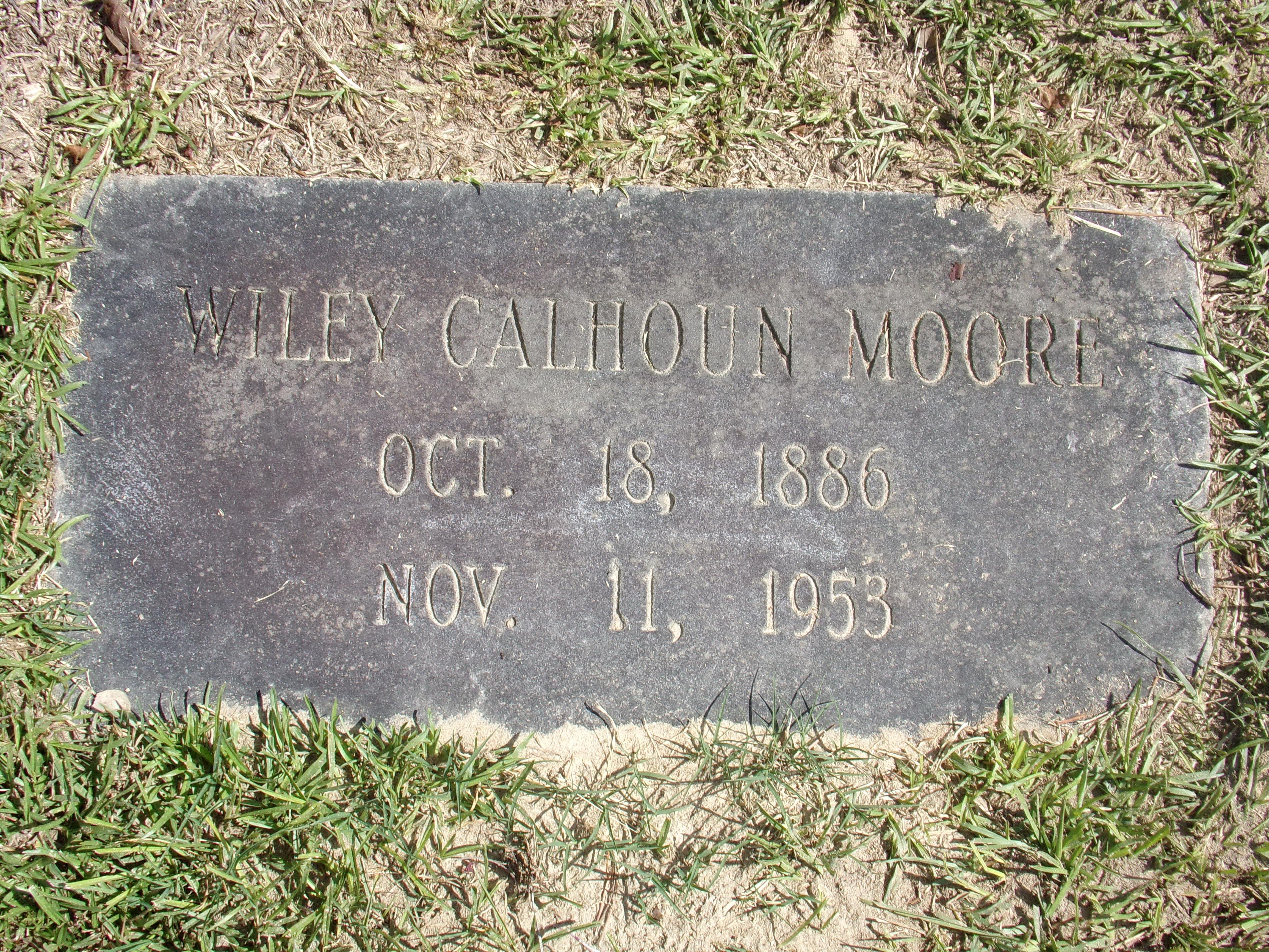 Wiley Calhoun Moore