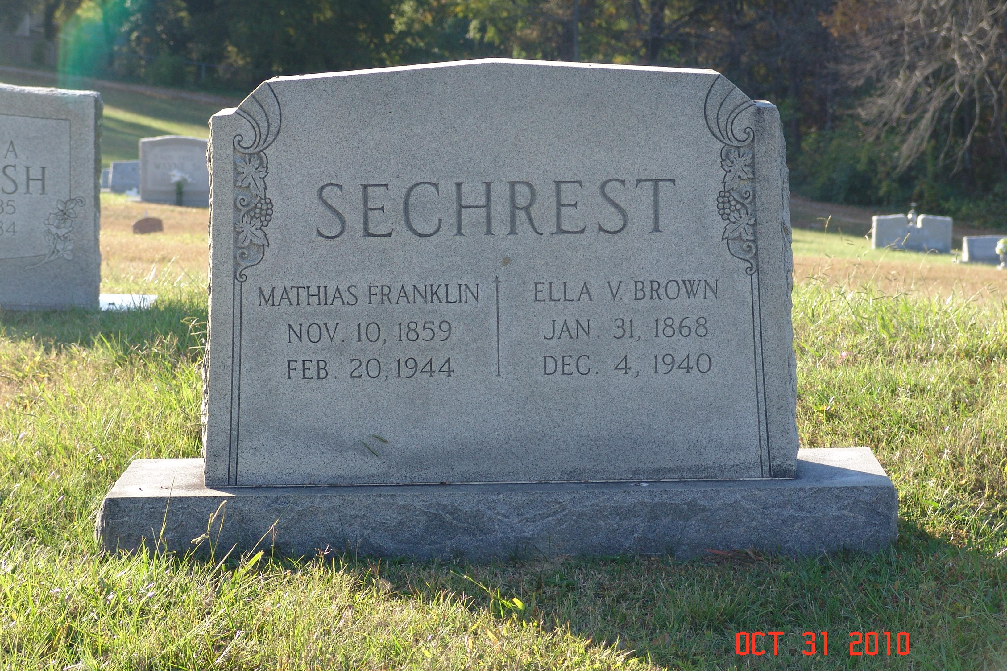 Rosey Sechrest