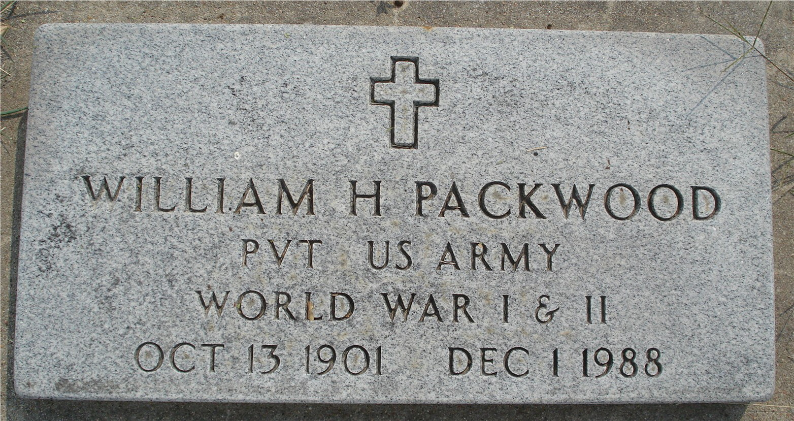 William H Packwood
