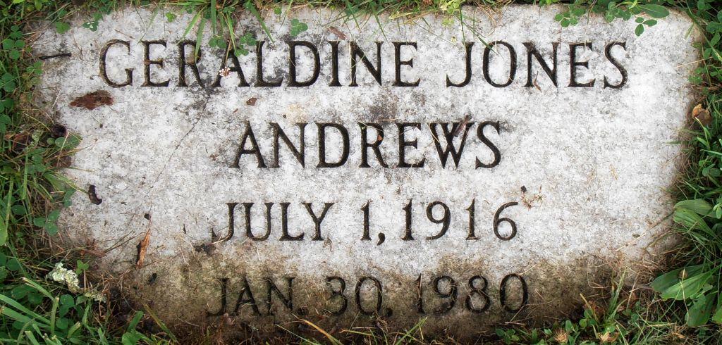 Geraldine Ruby Jones